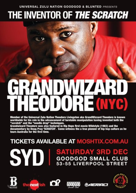 grand wizard theodore flyer